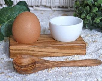 Egg cup troué PLUS incl. egg spoon