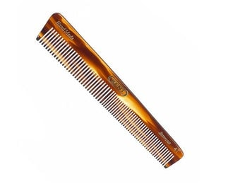 Kent Beard Comb - 150mm Coarse & Fine Toothed Grooming Comb