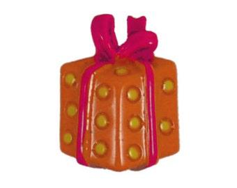 Orange/Pink Gift Flatback Resins