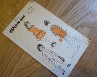 Child's 3-in-1 Vintage Pattern - 1960s