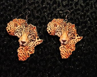 Leopard Africa Earrings
