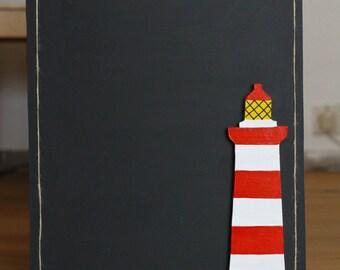 Lighthouse Chalkboard/menu board/notice board