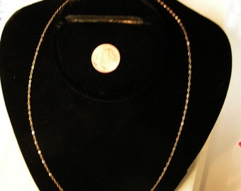 12/20 gold filed soldered link 18 inch trader chains Free Shipping