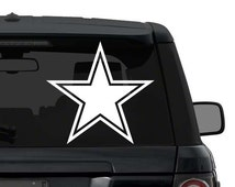Dallas Cowboys Decal Sticker for Car Truck Laptop ANY COLOR die cut vinyl