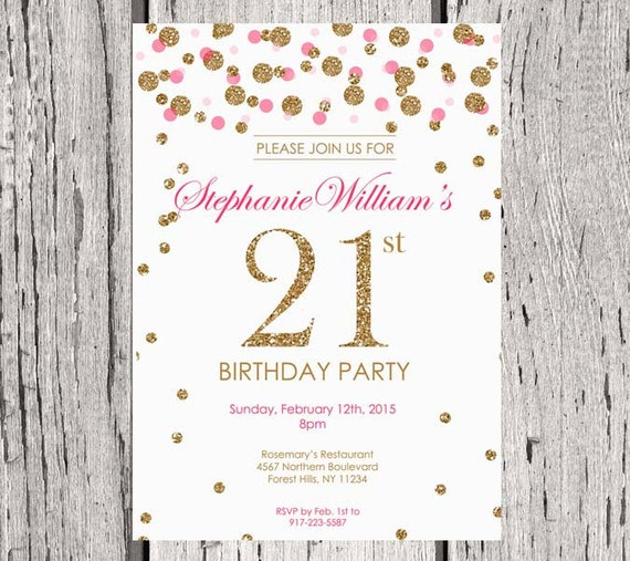 Customized Party Invitations with adorable invitation ideas
