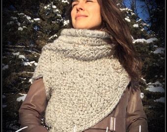 Crochet Asymmetric cowl