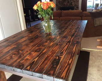 Wood Plank Dining Table