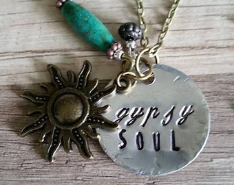 """Inspired by The Zac Brown Band,""""Gypsy Soul"""", necklace line"""