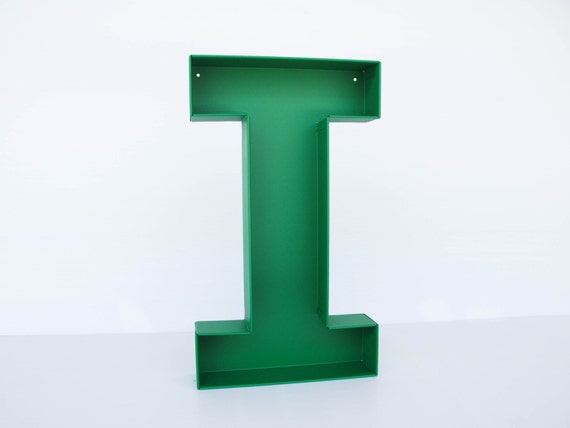 Wall hanging letters i sign letter wall decor letters by for Large letter j for wall