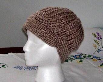 Favorite with brim crochet hat