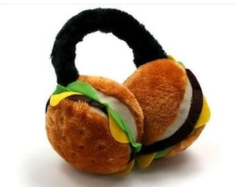 Cheeseburger Earmuffs