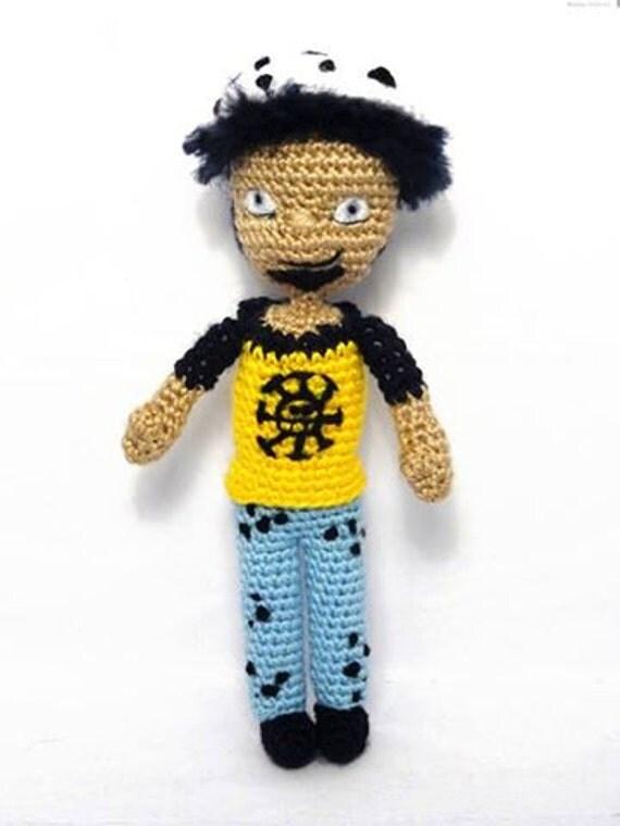 One Piece Trafalgar Law amigurumi 100% handmade by ...