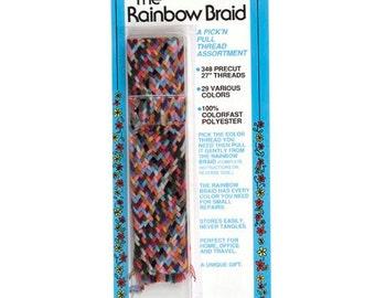 "348 Pick'n Pull 27"" Rainbow Braid by Collins Item # C14"