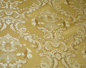 "Jacquard Floral, Fabric sold  By the Yard, 58 "" wide,  Montecarro Collection"