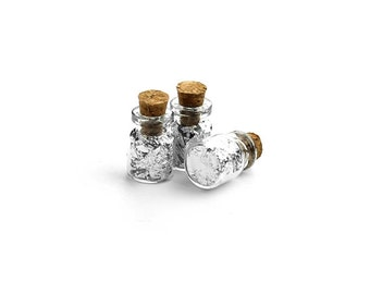 Silver Leaf In Corked Vial | 1 piece