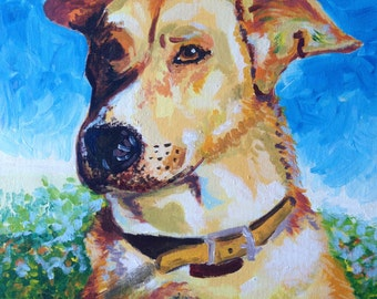 Custom Pet Portrait 35.6cm x 45.7cm