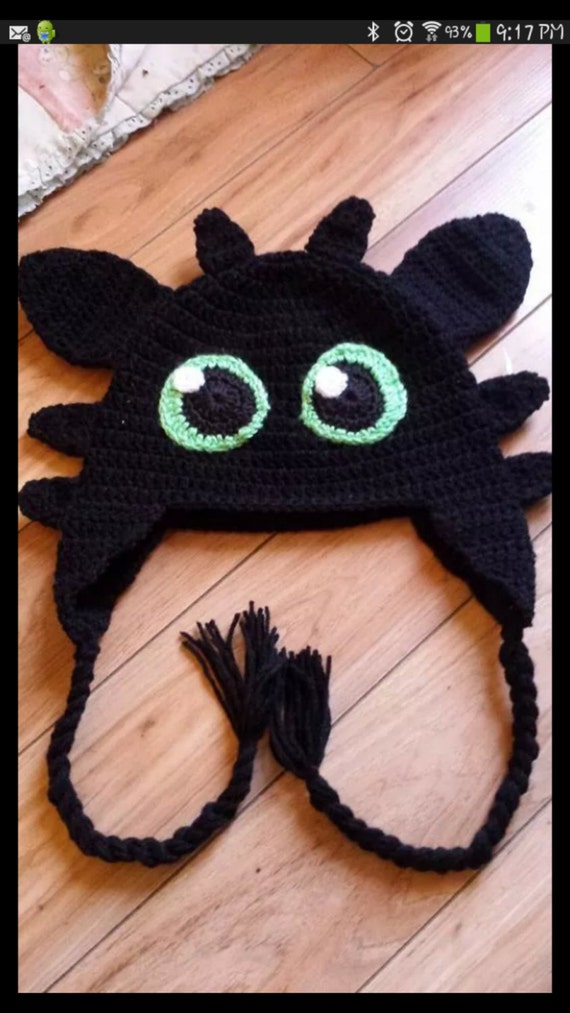 Items similar to Crochet how to train your Dragon hat on Etsy