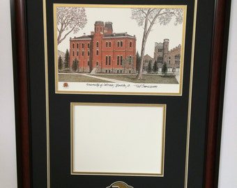 University of Colorado, Boulder Diploma frame with artwork