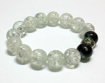 Icy winter bracelet
