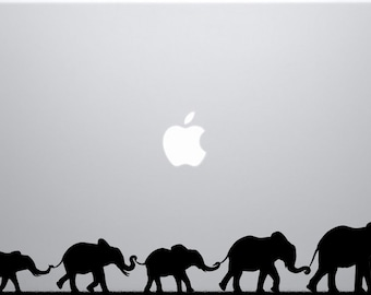 Elephant March decal for laptops