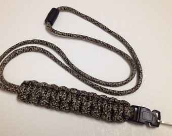 Paracord ID Lanyard with Buckle