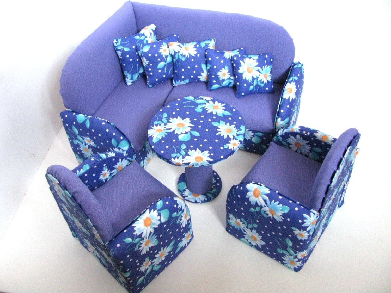 upholstered doll furniture 12 inch doll by evgeniyandalla