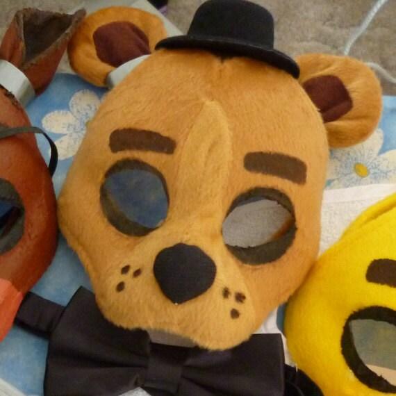 Five Nights At Freddy S Freddy Fazbear Mask By Shopbhawk