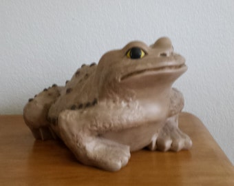 Ceramic Large Toad