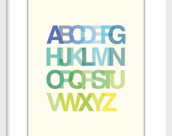 ABC Boy Art Print