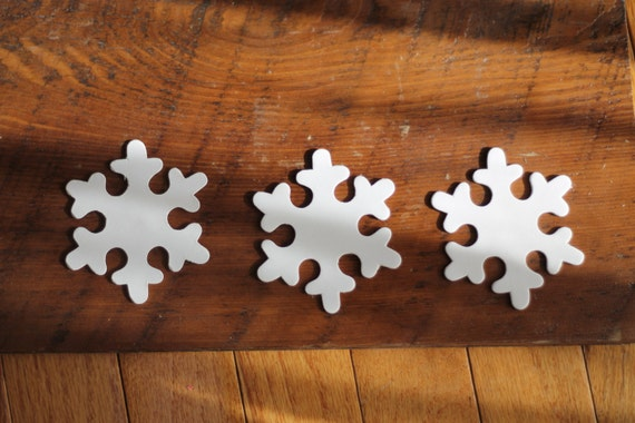 Wooden Snowflake Craft