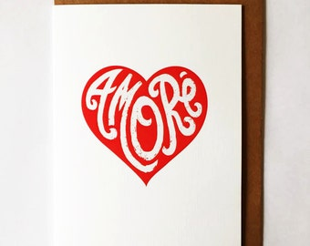 Amore ... Valentine's Day Card