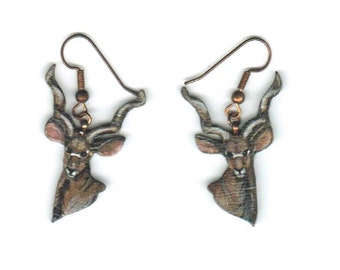Delicate Kudu Earrings