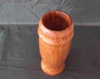Wood turned Butternut Vase
