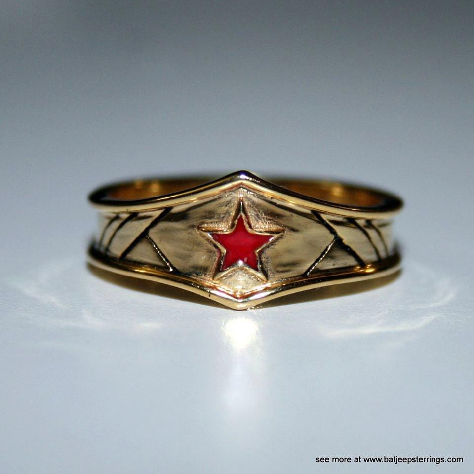 custom wonder woman inspired tiara ring wonder woman wedding ring Custom Wonder Woman Inspired Tiara Ring in Sterling Silver zoom