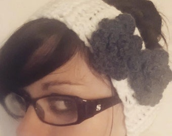 Flower Ear Warmer to Keep You Cozy!