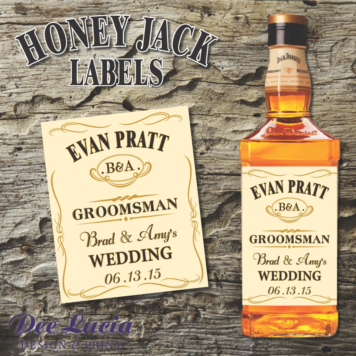 This is an image of Selective Jack Daniels Honey Label
