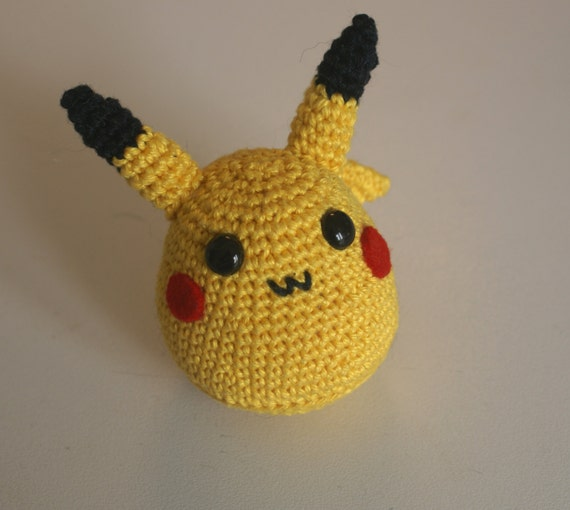 Chubby Pikachu pokemon amigurumi doll by MiruKumaCrochet ...