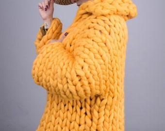 Spring Coat, Wool Coat, Knitted Cardigan, Oversized Cardigan, Women Coat Jacket, Chunky Jacket, Merino wool, chunky yarn