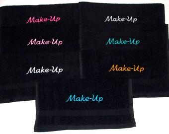 Black Makeup Remover Fade-resistant Washcloth