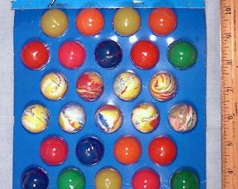 Vintage Super Balls High Bounce Ball Display Full Display card 36 balls