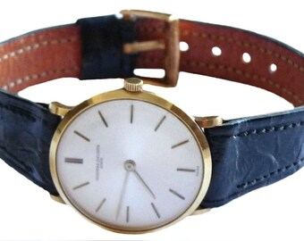 Vacheron Constantin 18k Yellow Gold Vintage Ladies Watch