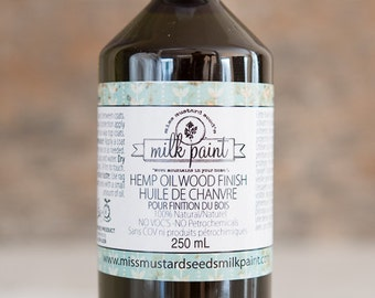 Miss Mustard Seed Milk Paint - Hemp Oil Finish - Made in Canada