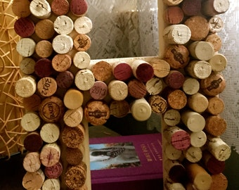 """Corked Wooden Letters, 12"""""""