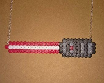 Light saber necklace
