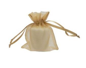"3"" x 4"" Organza Favor Bags (12 bags) - Free Shipping!"