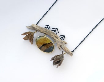 Into the woods necklace