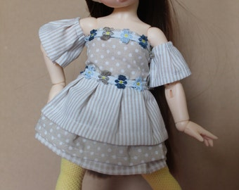 Free shipping-Dress and stockings for bjd Littlefee and Yosd