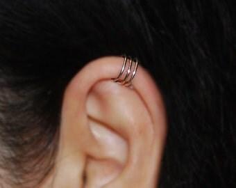 No Piercing Cartilage upper ear cuff