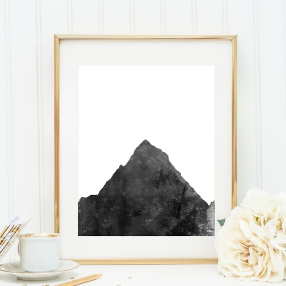 Minimalist print wall art digital print by printsbyjettyhome for Minimalist wall decor