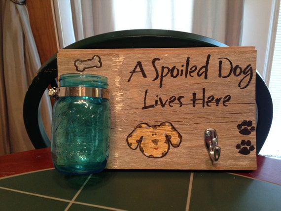 Spoiled Dog Treats & Leash Holder